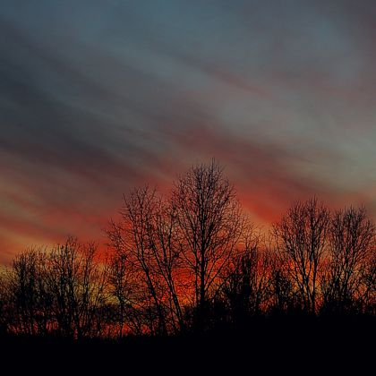 Sunset, Vinton County