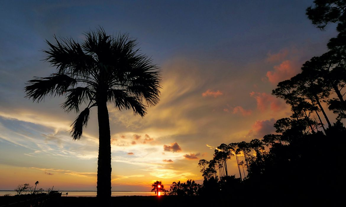 Sunset in Gulf County Florida